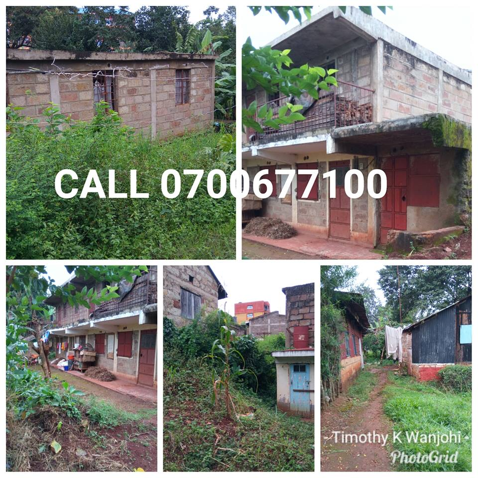 3 prime commercial plots sale at Muranga town